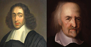What are the laws of nature? How does Thomas Hobbes impact Spinoza and his laws of nature?