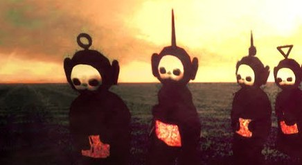 Are Teletubbies Scary ? They scared the wits out of me.