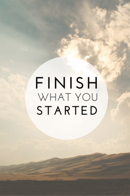 finish-what-you-started