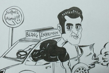 Artwork: Salman Khan- Don't drink and drive