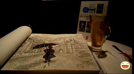 Artwork- The Rainmaker(Sketch)