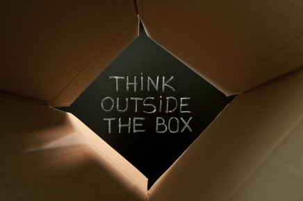Think Out Of The Box, Not Just Think Good
