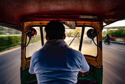 Words of an auto rickshaw driver