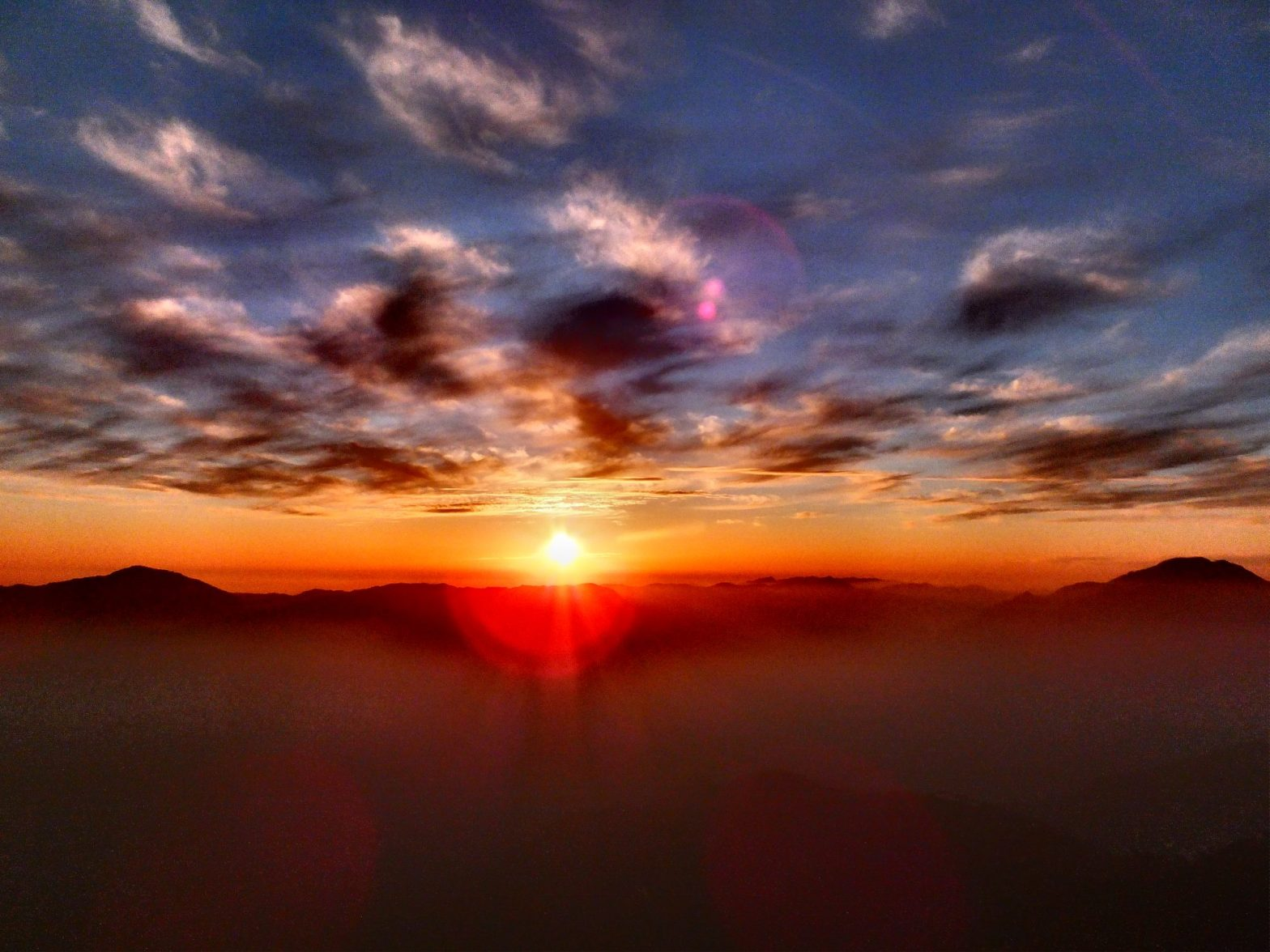 Chail Sunset_ Kali ka tibba