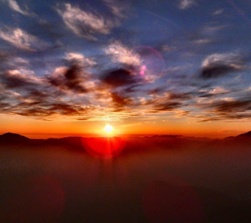 Chail Sunset_ Kali ka tibba