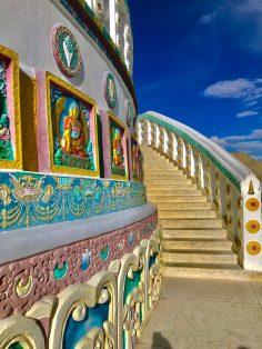 Found Every Corner of Shanti Stupa Beautiful